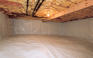 Crawl Space Moisture Barrier Systems In Greensboro